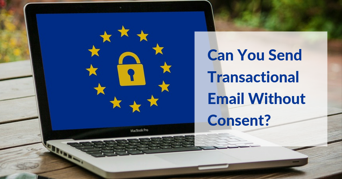 transactional email GDPR