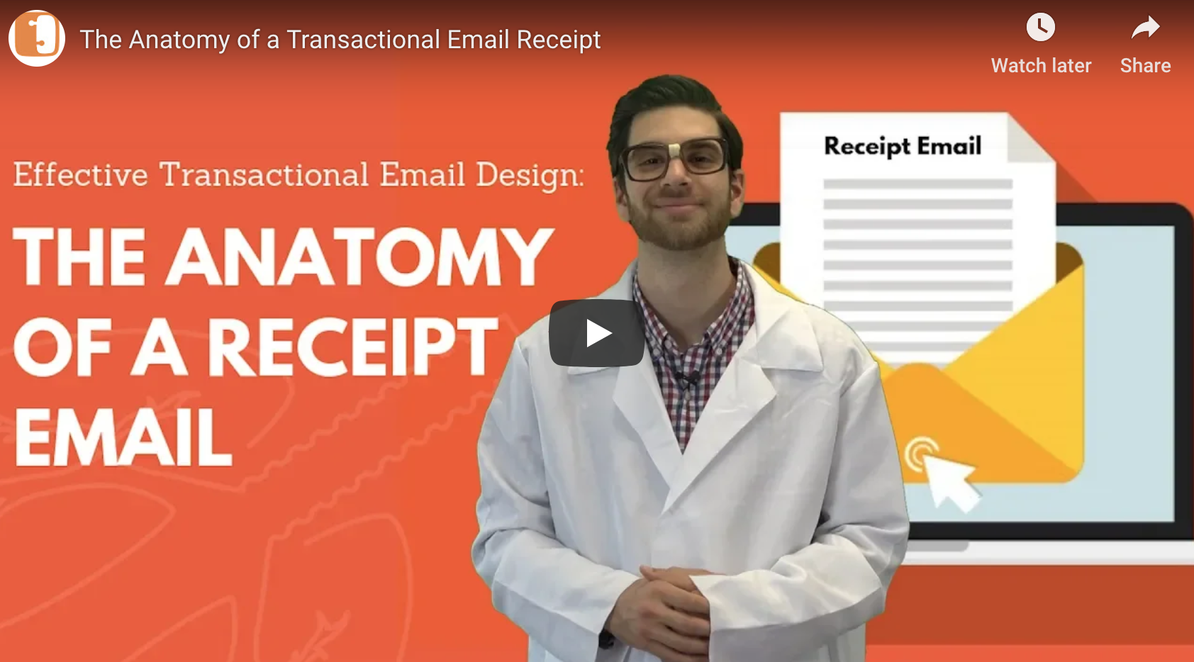 Effective Transactional Email Design: The Anatomy of a Receipt Email