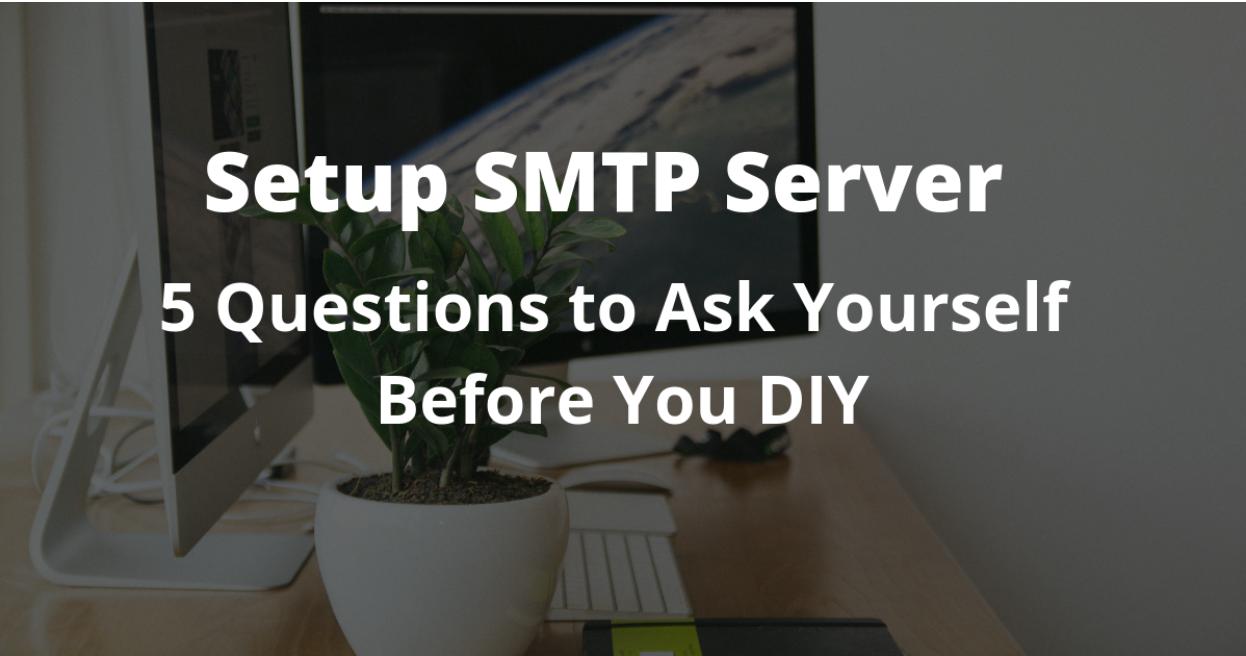 Setup Smtp server