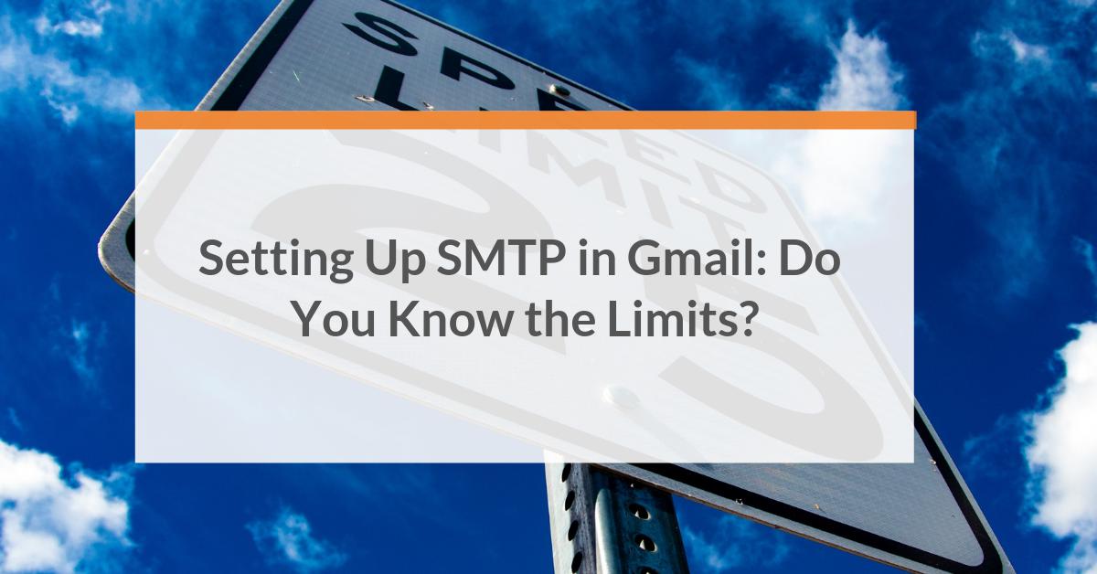 setup smtp gmail