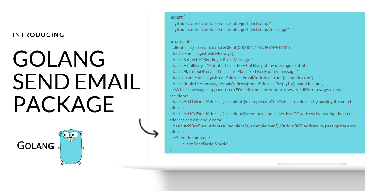 Golang send email