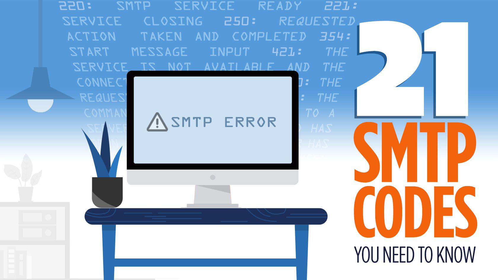 smtp response codes