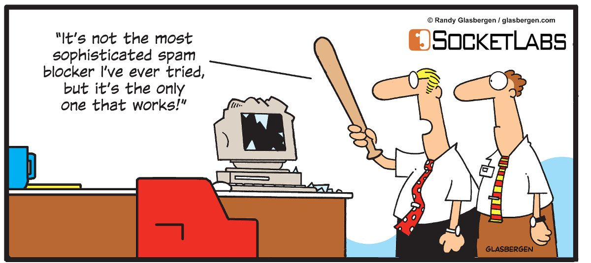 Sophisticated Spam Filtering Comic