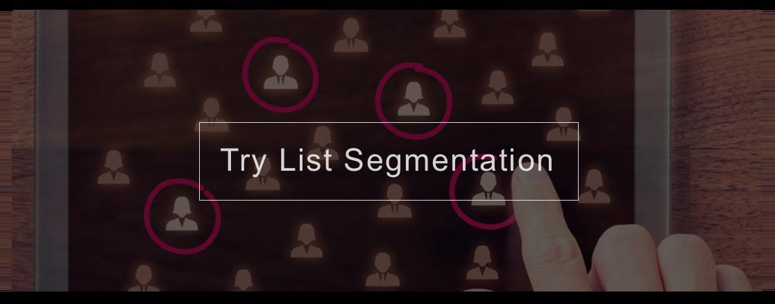 Try Segmentation