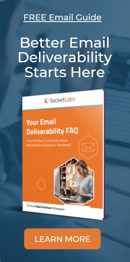 email deliverability faq