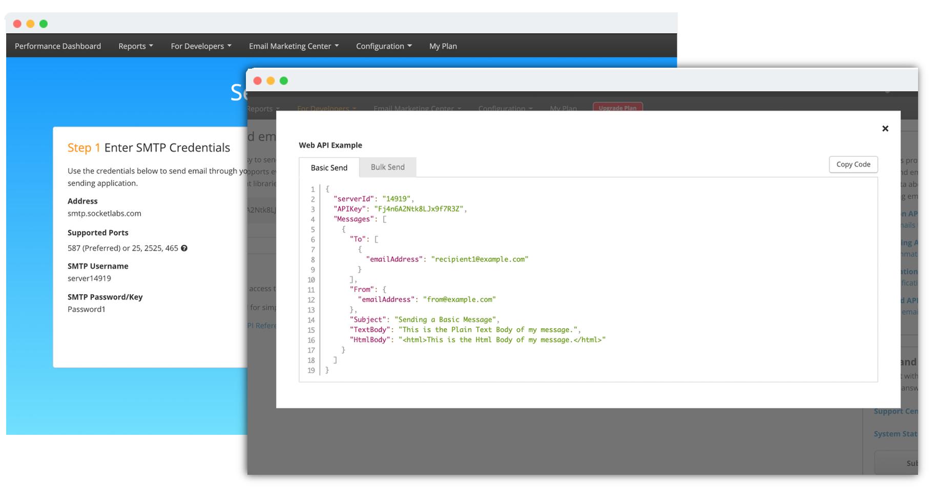 Email API & SMTP Service