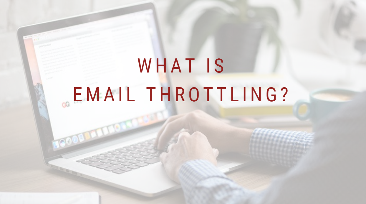 what is email throttling