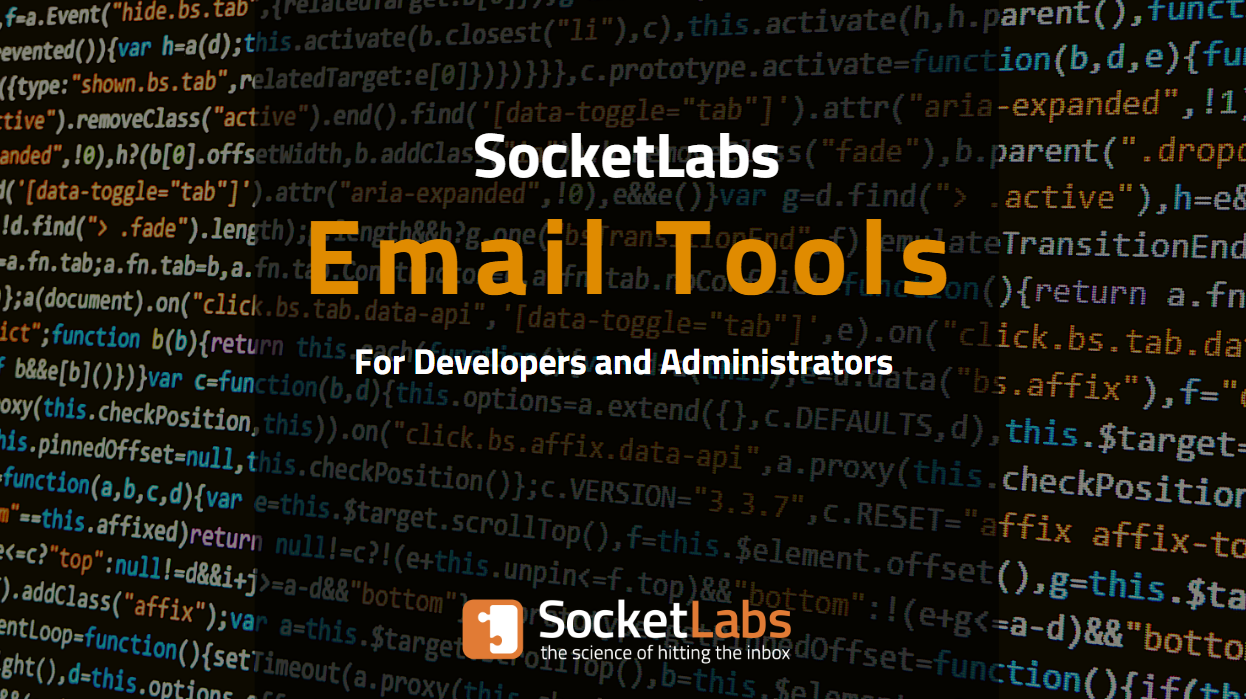 New SocketLabs Email Tools