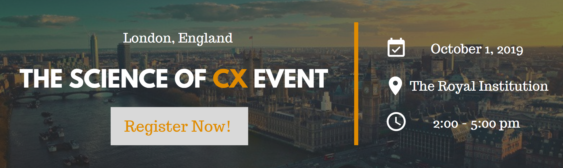 customer experience event