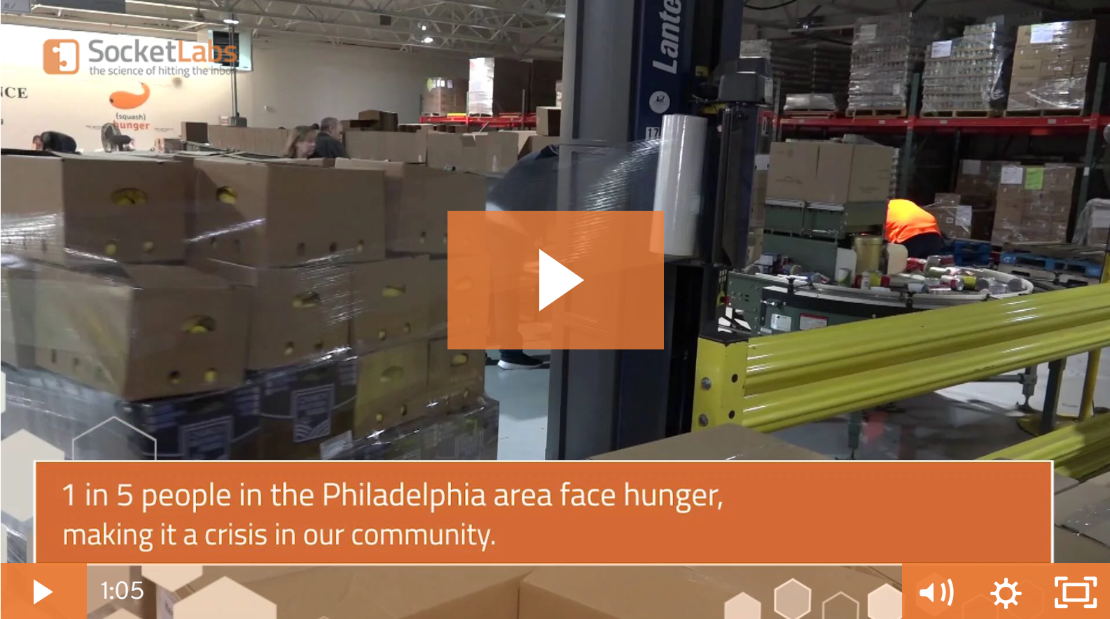 SocketLabs Fights Hunger In Philadelphia
