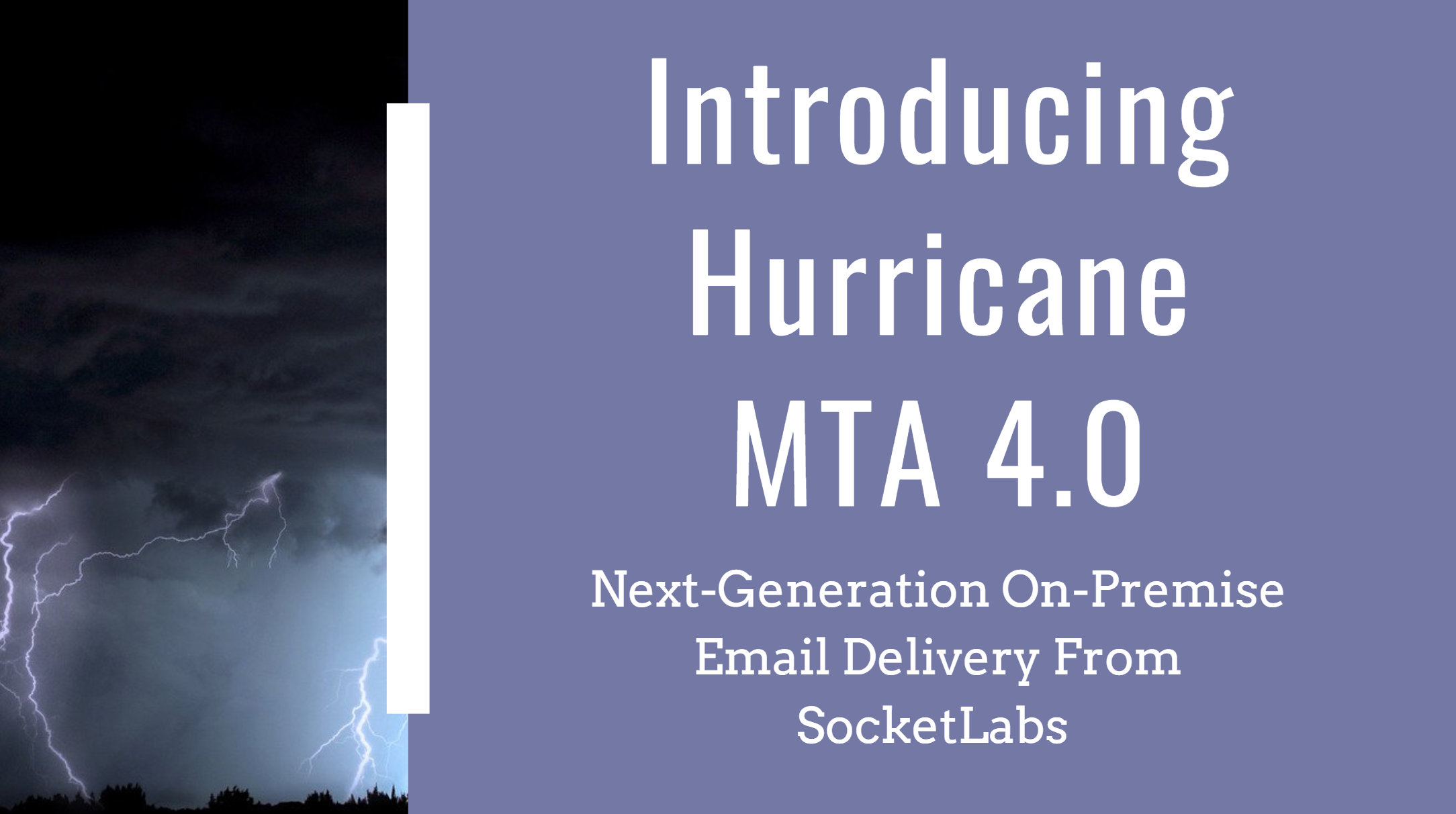 New SocketLabs On-Premise Email Server: Hurricane MTA 4.0