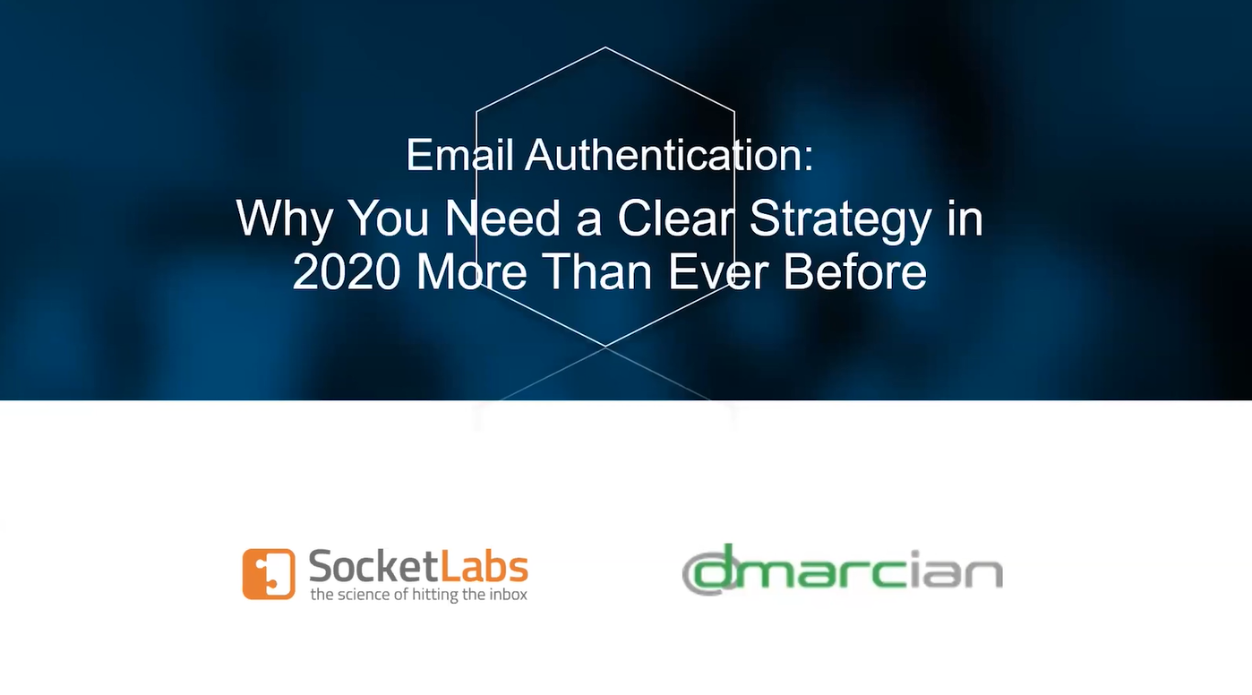 email authentication webinar