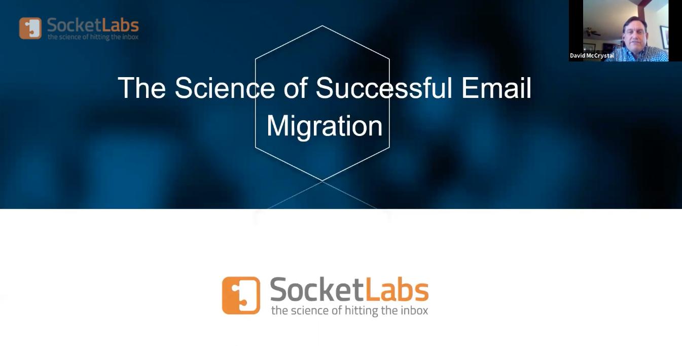 email migration webinar