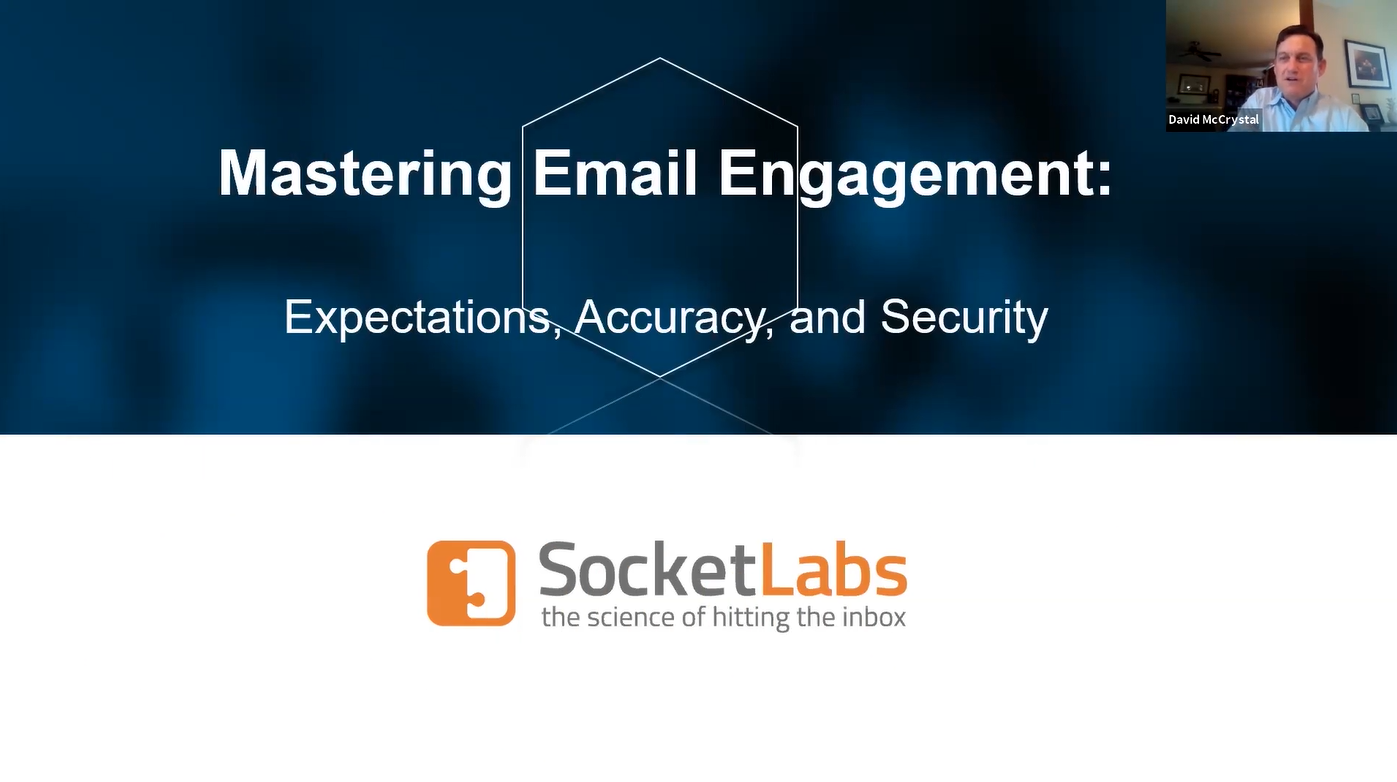 email engagement webinar