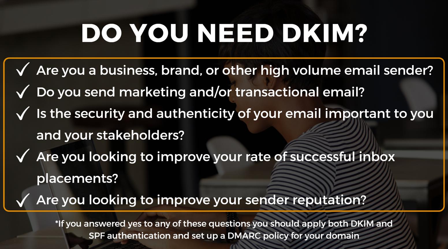 dkim checklist