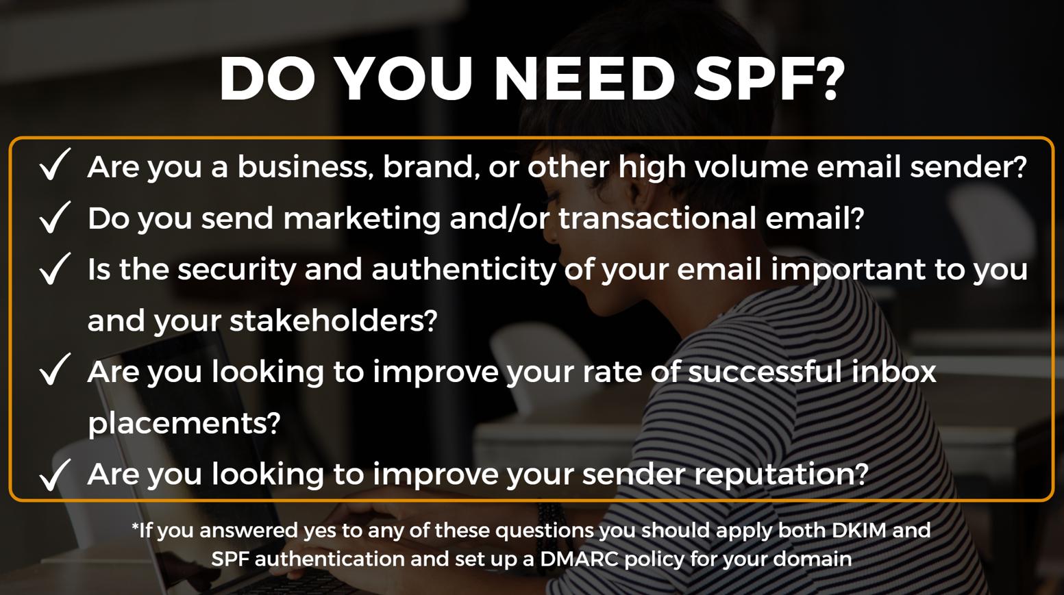 spf checklist