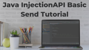 Java InjectionAPI Basic Send Tutorial