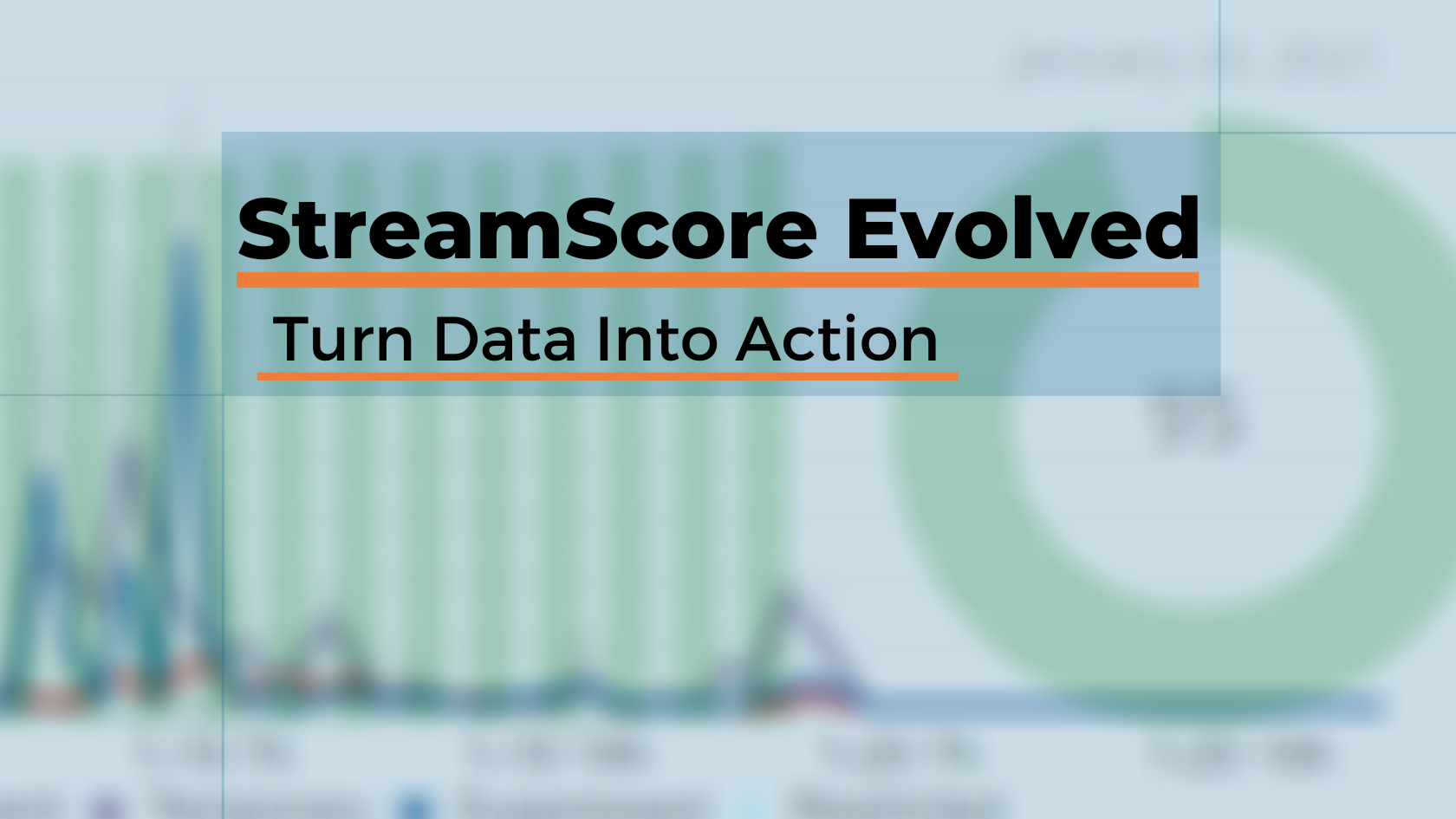 StreamScore™Evolved: Turn DataIntoAction